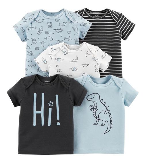 Carters Kit 5 Camisetas Originais Importadas Meninos