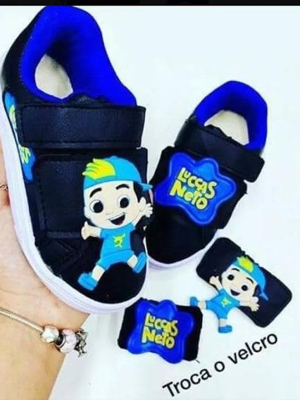 Tênis Infantil Lucas Neto Super Foca Menino Menina