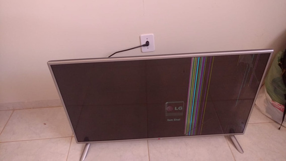 Tv Lg 42 Pol Full Hd Com Display Danificado