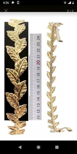 Cintillo Tipo Tiara Dorado