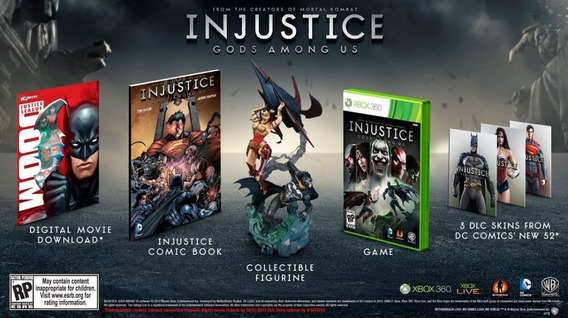 Injustice: Gods Among Us Collectors Edition - Xbox 360