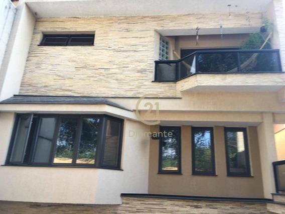 Casa Com 4 Dormitórios À Venda, 463 M² Por R$ 3.200.000,00 - Moema - São Paulo/sp - Ca0540
