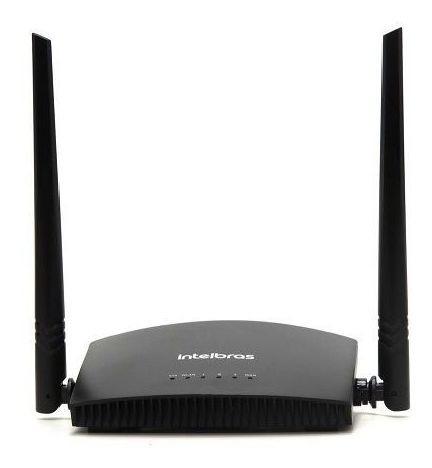 Roteador / Repetidor Intelbras 2 Antenas 300 Mbps