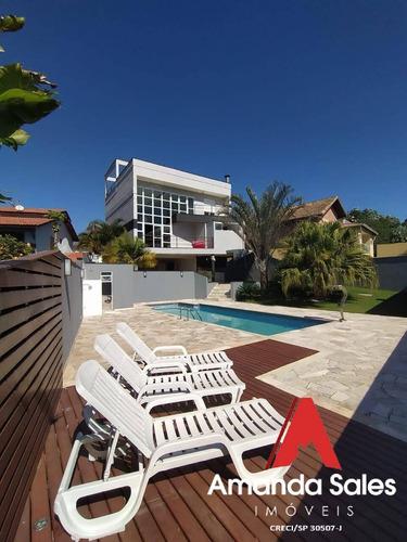 Oportunidade Casa Cond. Aruã Em Mogi Das Cruzes - 360m²!! Estuda Permuta!! - Ca00618a