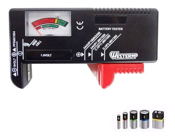 Testador Medidor De Carga Energia Pilha E Bateria 1.5v E 9v