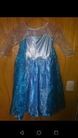 Vestido Elsa De Frozen Talla 6