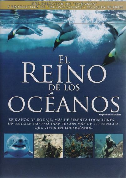 El Reino De Los Oceanos Mini Serie Documental Dvd
