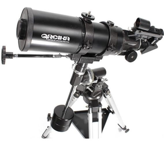 Telescópio Equatorial Refrator Greika Bt400-80eq Garantia