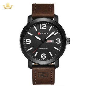 Relógio Masculino Curren Analógico 8273 Preto Com Nf