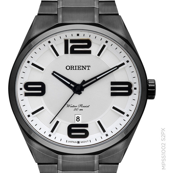 Relógio Orient Preto Original Mpss1002 S2px Masculino + Nota