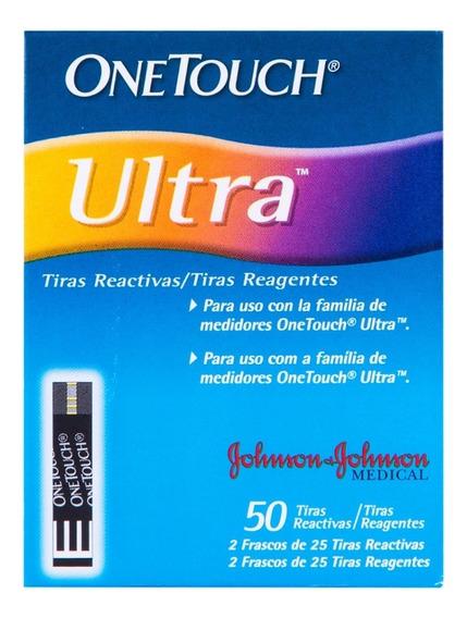 Tiras Reactivas One Touch Ultra 1 Caja 50 Piezas