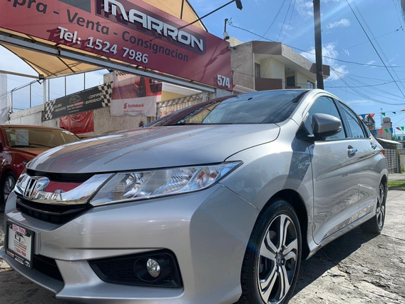 Honda City Ex 2016 Plata