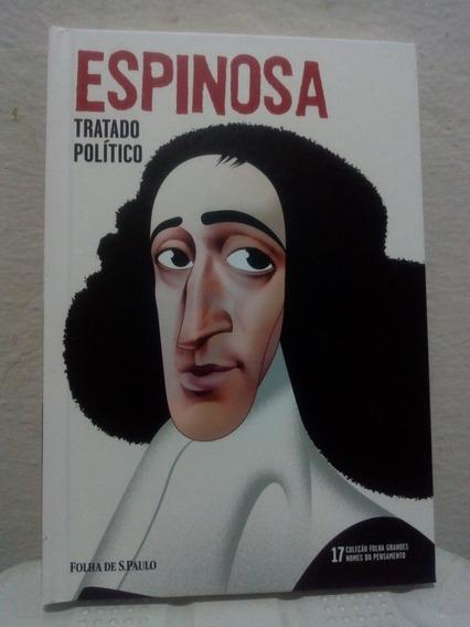 Livro Coleção Folha Espinosa Tratado Político