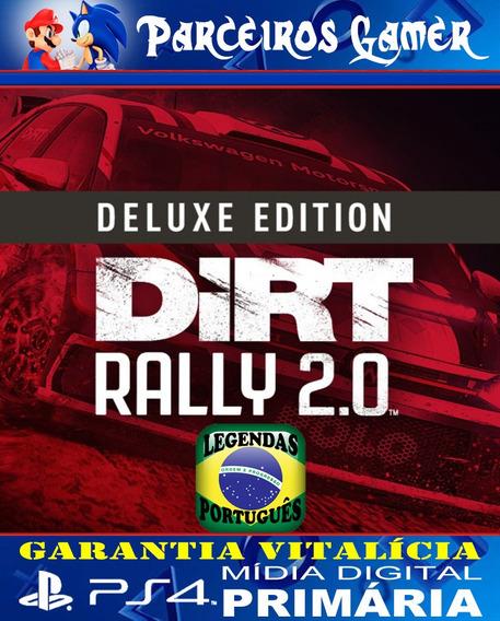 Dirt Rally 2.0 Digital Deluxe - Ps4 1 - Digital - Corrida