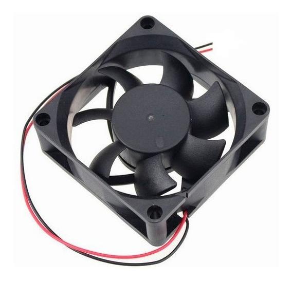 Ventilador Cooler Ventoinha 80x80x25mm 12v (kit 4 Pçs)