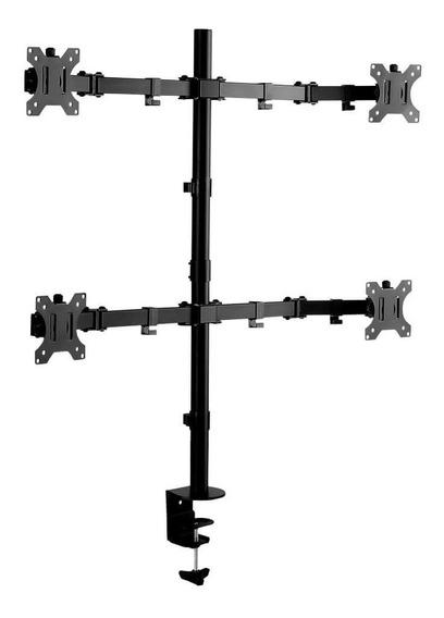 Suporte Quadruplo Monitor Articulado 13-32 Brasforma Sbrm740