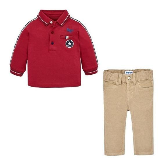 Conjunto Camisa Y Pantalon Mayoral Para Bebe Niño