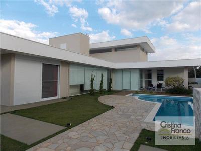 Casa Residencial À Venda, Condomínio Haras Pindorama, Cabreúva - Ca0912. - Ca0912