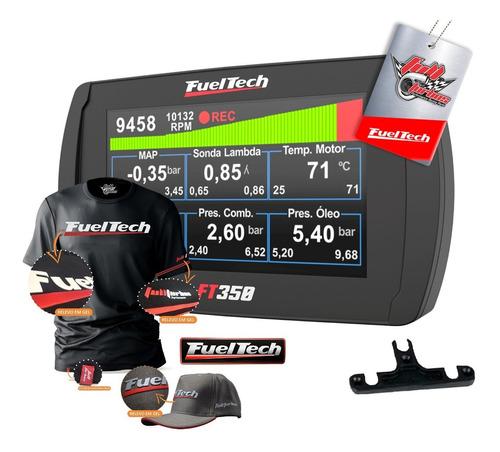 Fueltech Ft350 Sem Chicote + Mega Brindes + Camiseta Gel +bc