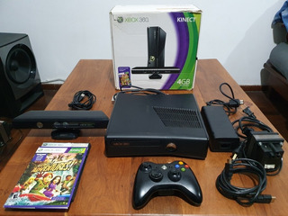 Xbox 360 4g Kinect Con Flash Lt