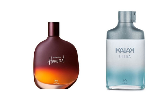 Perfumes Natura Masculinos: Química De Humor + Kaiak Ultra