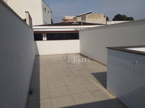 Cobertura Com 2 Dormitórios À Venda, 114 M² Por R$ 360.000,00 - Vila Pires - Santo André/sp - Co1903