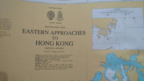 Cartas Náuticas Admiralty Inglesas