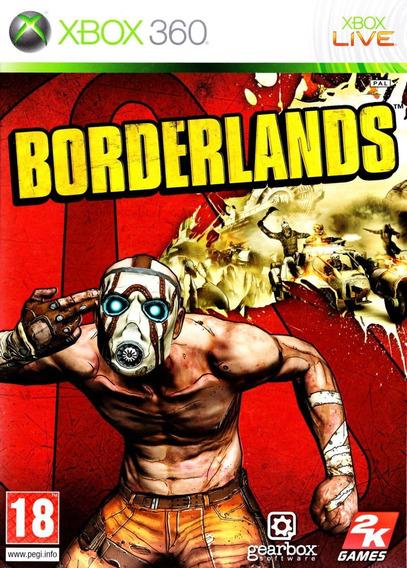 Jogo Borderlands Xbox 360 X360 Original Game Frete Grátis!