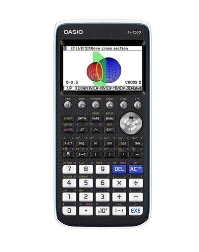 Casio Color Graphing Calculator, Black & White,.wx....