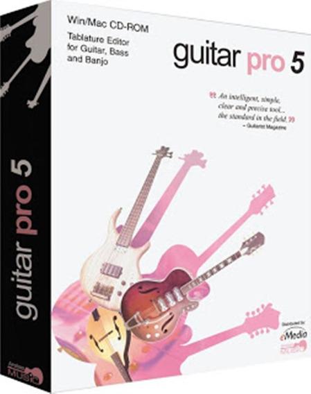 Guitar Pro 5.2 + Serial Original Win/mac