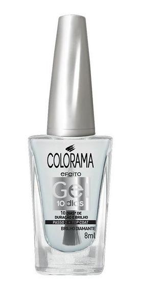 Esmalte Colorama Gel Top Coat Gel 8ml