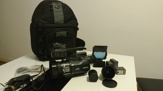 Filmadora Jvc Gy-hm 100u + Acessórios
