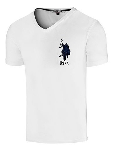 Playera Caballero U.s. Polo Assn Mu1300 Md-gd Env Gratis T2