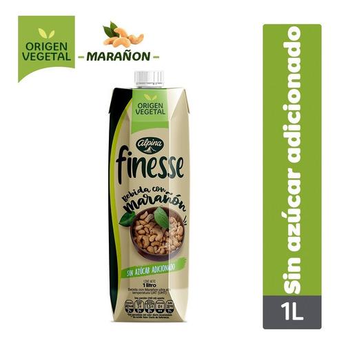 Imagen 1 de 1 de Bebida Vegetal Finesse Con Marañón Si - mL a $12800