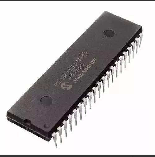 03 Unidades X Pic18f4550 18f 4550 Usado 1 Vez P/ Teste