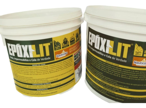 Tinta P/ Impermeabilizar Lago De Concreto Massa Epóxi 3kg