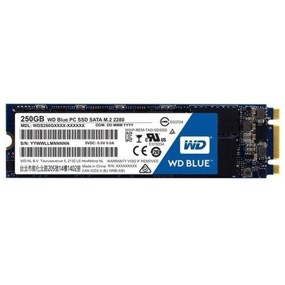 Disco Solido Ssd Wd 250 Gb Blue M.2 Western Digital M2
