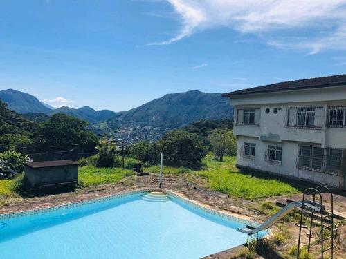 Casa Com 4 Dormitórios À Venda, 266 M² Por R$ 980.000,00 - Cascata Dos Amores - Teresópolis/rj - Ca1019