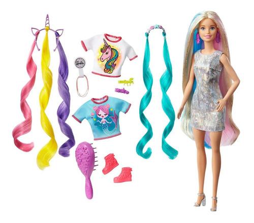 Imagen 1 de 3 de Barbie Peinados De Fantasia