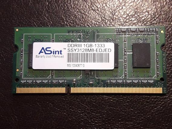 Tarjeta De Memoria Ram Ddr3 1gb 1333 Mhz