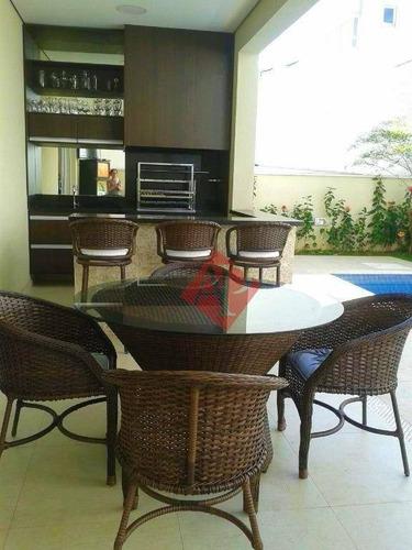 Casa Com 4 Dormitórios À Venda, 420 M² Por R$ 2.700.000,00 - Gênesis 1 - Santana De Parnaíba/sp - Ca1125