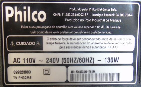 Cabo Lvds Tv Philco Ph32m Dtv / Ph32m 2 / Ph32m3 / Ph32m6