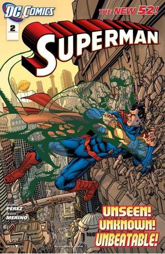 Superman #2 A 12 The New 52 (2011) Dc Comics
