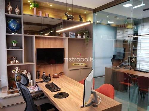 Imagem 1 de 11 de Sala À Venda, 53 M² Por R$ 535.000,00 - Boa Vista - São Caetano Do Sul/sp - Sa0907