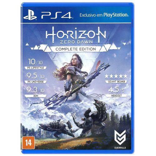 Jogo Horizon Zero Dawn - Ps4 - Complete Edition