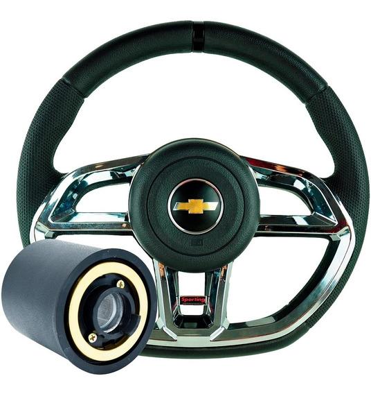 Volante Vectra 97 98 99 Astra Chevrolet Esportivo + Cubo
