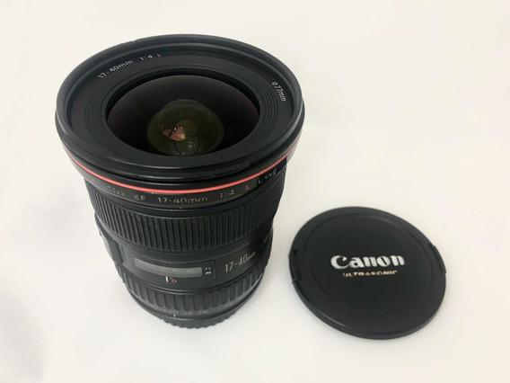 Lente Canon Ef 17-40 Mm F/4 L