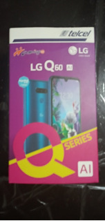 Celular LG Q60 64 Gb Color Azul