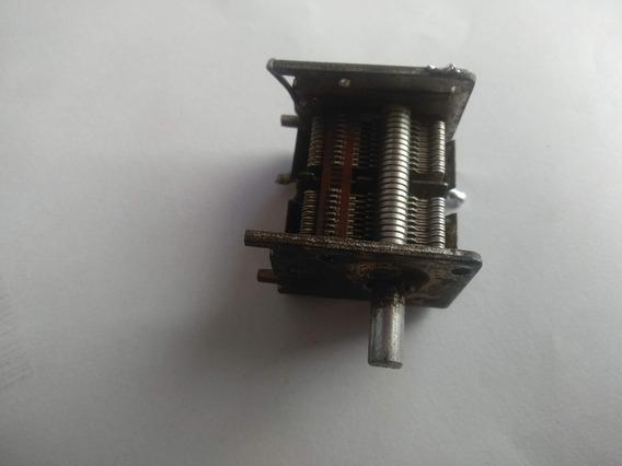 Capacitor Variável De Metal (duas Seções De 450pf)