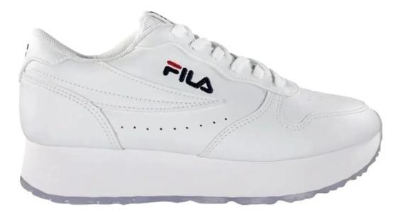 Zapatillas Fila Euro Jogger Wedge Mujer Varios Colores Abc